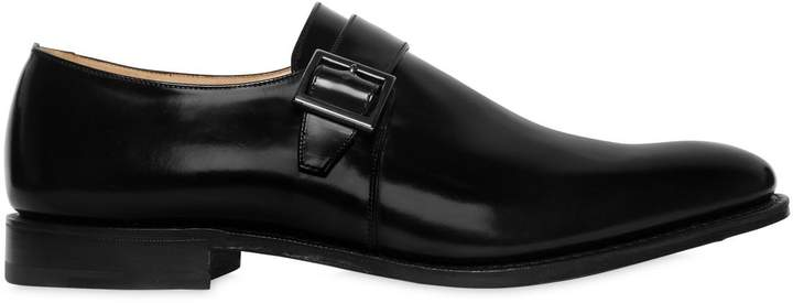 Church's Lisbon Brushed Leather Monk Strap Shoes