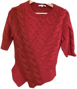 Carven Red Wool Knitwear for Women