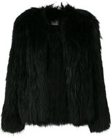 Meteo By Yves Salomon fur vest coat