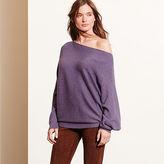 Ralph Lauren Dolman Cotton-Blend Sweater