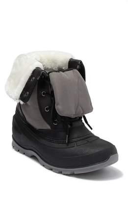 Kamik Harper Waterproof Leather Faux Fur Snow Boot