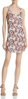 En Creme Floral Button-Front Dress
