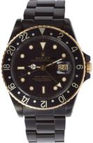 Black Limited Edition Matte Black & Gold Limited Edition Rolex GMT Master I