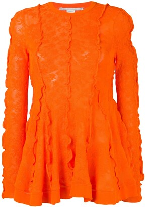 Stella McCartney Floral Lace Top