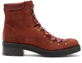 Rupert Sanderson Roanoke Suede Lace-up Boots - Womens - Brown