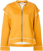 Marni flutter shoulders zip-up jacket
