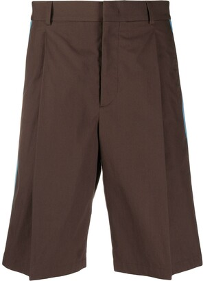 Valentino Side Panelled Bermuda Shorts