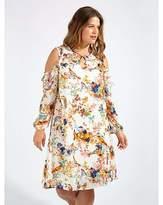 Anne Klein Lovedrobe GB Bird Print Shift Dress