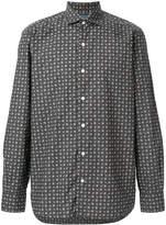 Barba classic printed shirt
