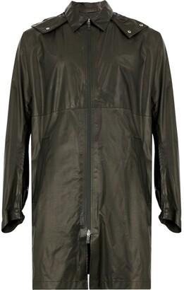 Herno Midi Zip Raincoat