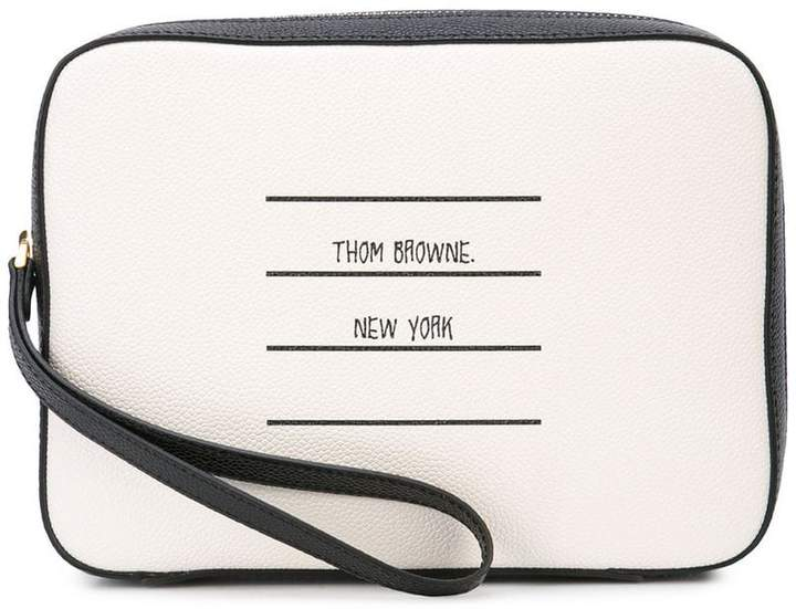 Thom Browne 'New York' pouch
