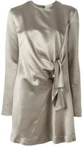 Isa Arfen knot detail shift dress