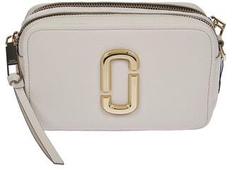 Marc Jacobs Softshot Detachable Strap Logo Shoulder Bag