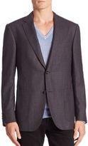 Pal Zileri Two-Button Wool Jacket