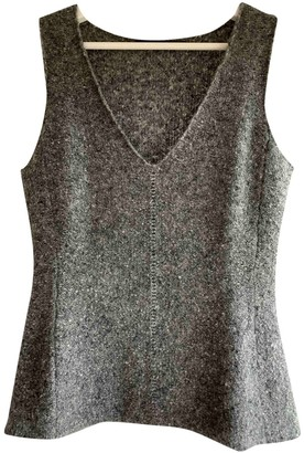 Narciso Rodriguez Grey Cashmere Knitwear