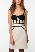 Sateen Bustier Dress