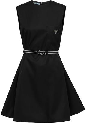 Prada Sleeveless Gabardine Dress