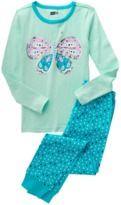 Crazy 8 Butterfly 2-Piece Pajama Set