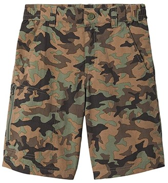 Columbia Kids Silver Ridgetm Novelty Shorts (Little Kids/Big Kids) (Cypress Traditional Camo) Boy's Shorts