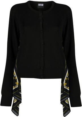 Versace Jeans Couture Scarf-Detail Knit Cardigan