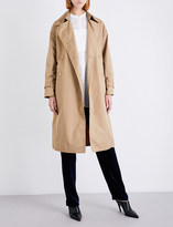 3.1 Phillip Lim Double-breasted cotton-blend trench coat