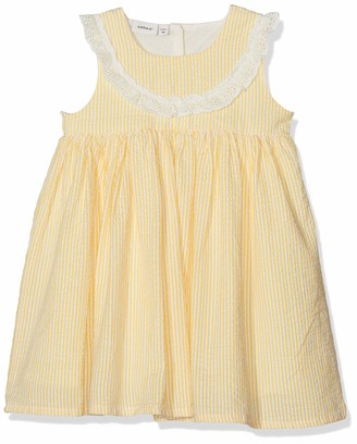 Name It Baby Girls' Nbfdalone Spencer Wl Dress