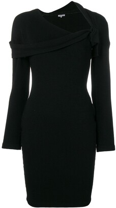 Romeo Gigli Pre-Owned Draped Neck Dress