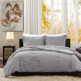 E and E Co., LTD. Madison Park Norfolk Paisley Embroidered Comforter 3-piece Mini Set - Queen