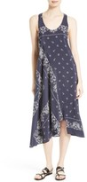 Theory Women's Apalania Bandana Silk A-Line Dress