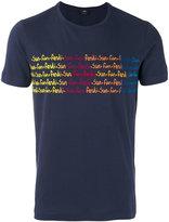 Fendi printed T-shirt - men - Cotton - 46
