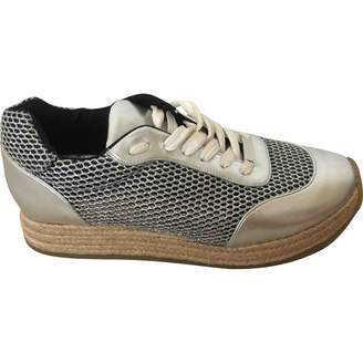 Stella McCartney Stella Mc Cartney Silver Polyester Trainers