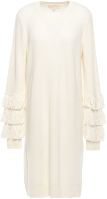 MICHAEL Michael Kors Fringed Knitted Dress