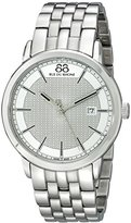 88 Rue du Rhone Men's 87WA130016 Analog Display Swiss Quartz Silver Watch