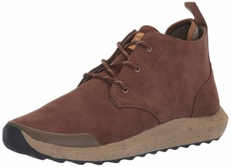 Freewaters Men's Freeland Premium Suede Outdoor Casual Dress Boot w/Arch Support & 3M Scotchgard Chukka