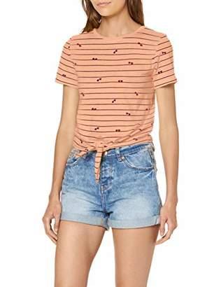 Only Women's onlBONE Knot S/S Sunglasses Box CO/SL JR T-Shirt,12 (Size: M)