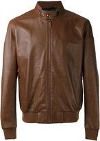 Z Zegna bomber-style jacket - men - Lamb Skin/Polyamide/Polyester - L