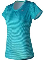 New Balance Women's Accelerate Short Sleeve Graphic