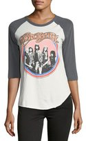 Junk Food Clothing Aerosmith Raglan Graphic Tee