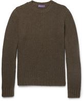 Ralph Lauren Purple Label Cashmere Sweater - Army green