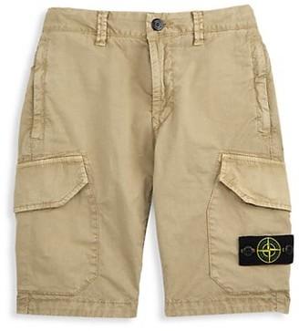 Stone Island Boy's Bermuda Cargo Shorts