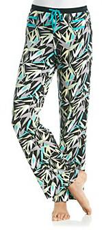 Jockey Modern Black/Multi Knit Pants - Bamboo Gardens