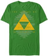 Fifth Sun Men's Tee Shirts KELLY - Legend of Zelda Kelly Triforce Tee - Men