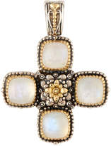 Konstantino Erato Labradorite Doublet Cross Pendant Enhancer