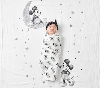 Pottery Barn Kids Disney Mickey Mouse Organic Swaddle Set