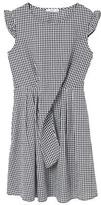 MANGO Gingham check dress