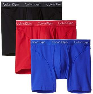 Calvin Klein Men's Underwear 3 Pack Air FX Micro Boxer Briefs