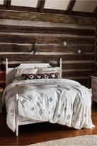 Anthropologie Embroidered Palermo Duvet