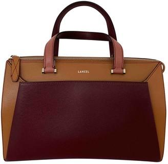 Lancel Lison Camel Leather Handbags