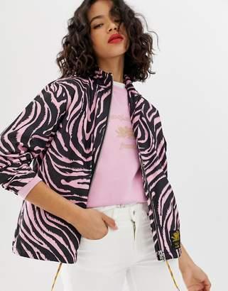 Tiger of Sweden Jeans tiger print jacket-Pink