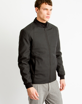 Selected Clean Bomber Jacket Black